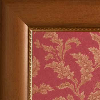 Noice profilo oro - Carta decorativa Rosso-Oro